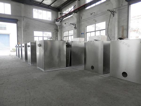 工厂食堂室外大全能型一体式隔油池的油如何处理