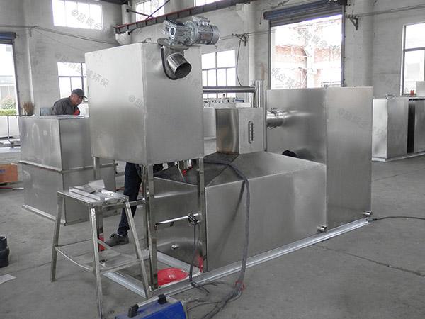 单位食堂地面式中小型智能型成套隔油池设备厂家供应