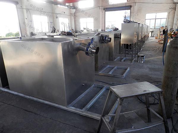 餐用地下机械一体化隔油装置的选型