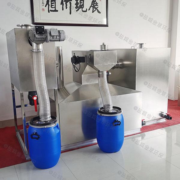 综合体埋地式多功能垃圾处理器油水分离生产厂家