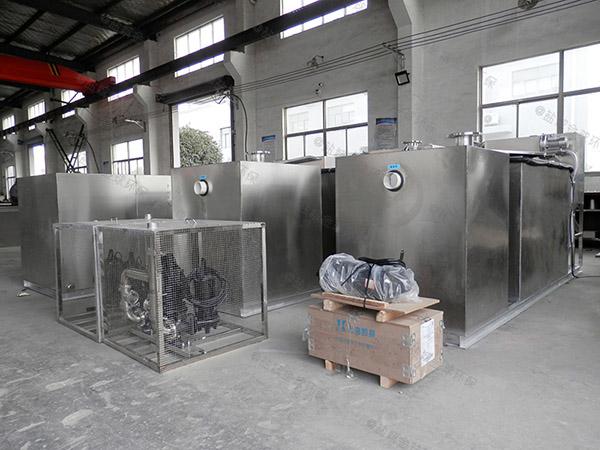 餐饮环保地下式自动排水油水分离器哪里有卖