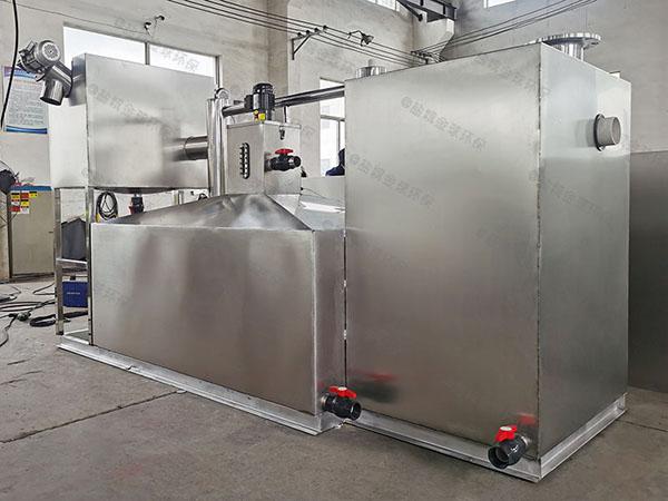 餐饮专用大型自动不锈钢油水分离器的材质