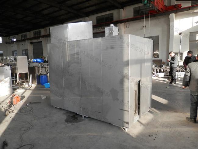 厨下型地下移动一体化隔油池处理设备样本