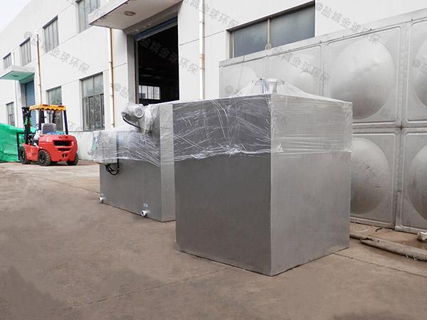 厨下型地下多功能污水隔油提升设备使用