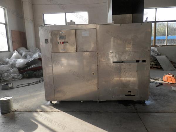 厨房用埋地式移动式污水油水分离设备使用