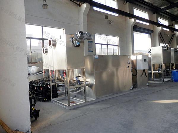 厨下型地上式移动式一体化隔油提升装置制作方法