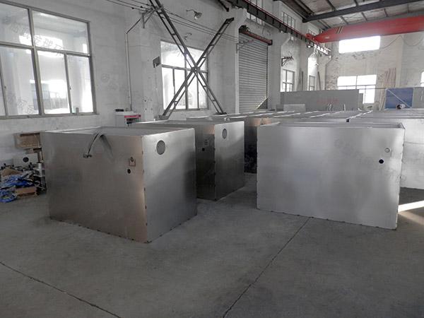 厨房用地上移动式下水隔油设备说明书