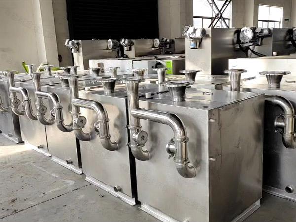 餐用地上移动式污提及隔油设备适用行业