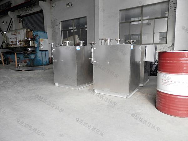 厨下型埋地式移动一体化隔油池处理设备造价