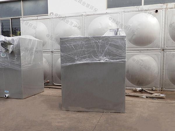 餐飲類地上全能型污水隔油提升設備調試方案