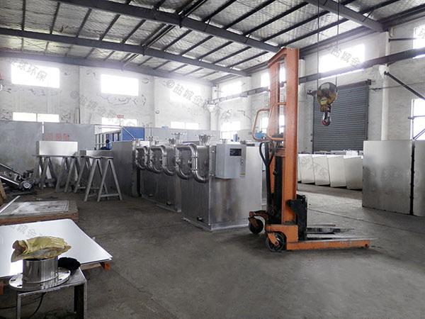 餐饮行业室内移动式污水油水分离设备停留时间