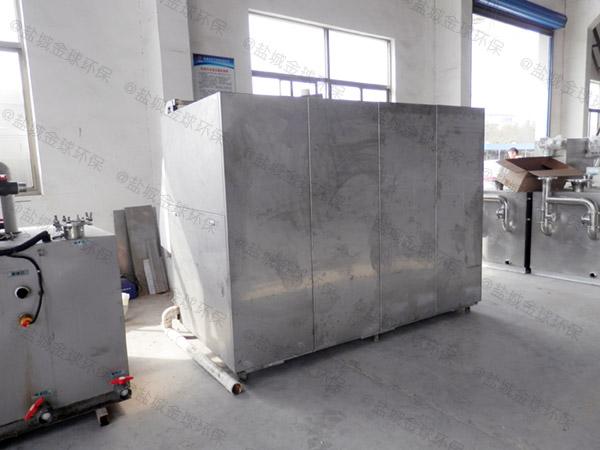厨用地面式全自动智能型污提及隔油设备正确安装