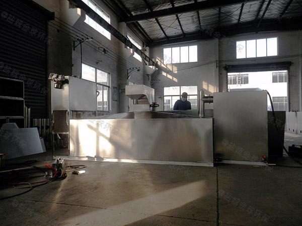 厨房用室外移动下水道油水分离器维修