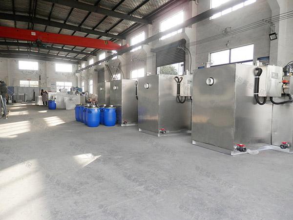 厨房用地下室简单斜流式隔油池直供厂家