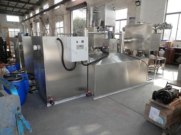 餐饮专用室内简单污水处理油水分离设备系列