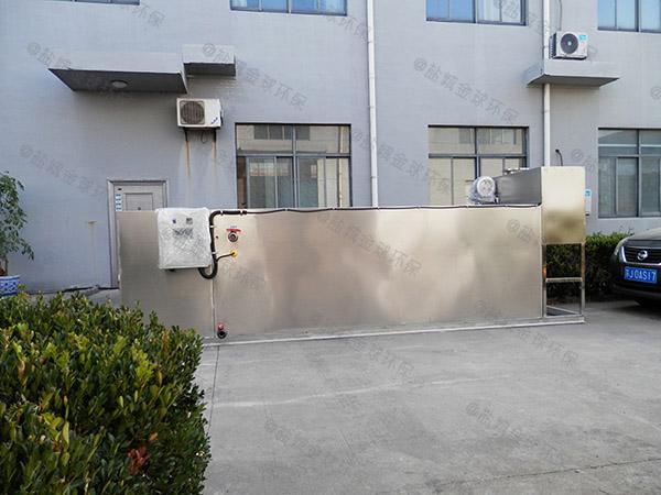 餐饮商户地上全能型污水提升及隔油设备使用说明书