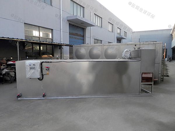 餐饮专用埋地式半自动污水隔油设备正确安装
