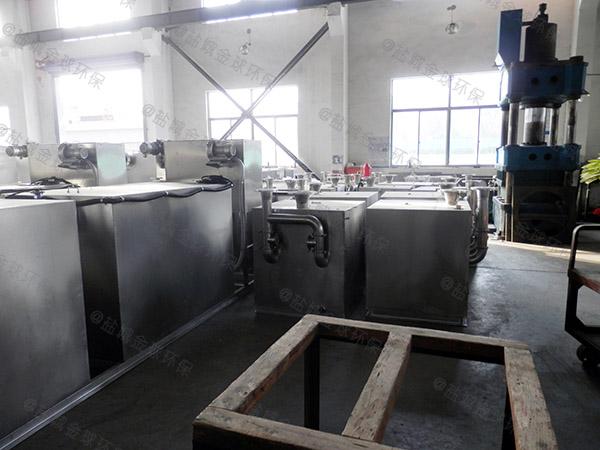 餐饮环保室外全能型污水处理油水分离设备直产厂家