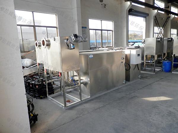 厨房用地下式智能化一体化隔油池处理设备销售