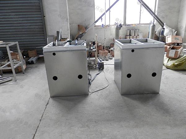 餐饮行业地上式移动式污水处理油水分离设备制造厂家