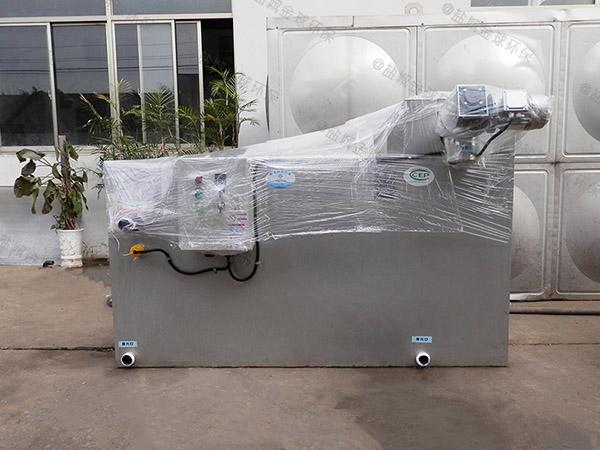 厨房用地下智能化污水隔油提升设备视频