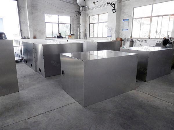 厨下型室内全自动智能型一体化隔油池设备制作方法
