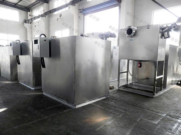 餐饮业地下简易污水隔油设备直供厂家