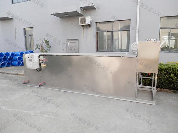 厨下型埋地简易一体化隔油池设备市场