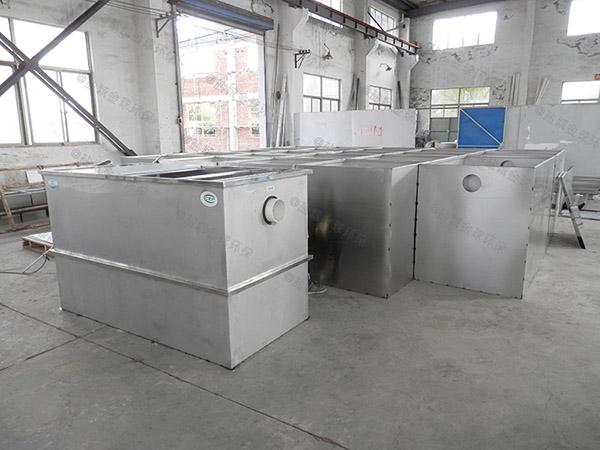 餐饮业地下式半自动一体化隔油器维修