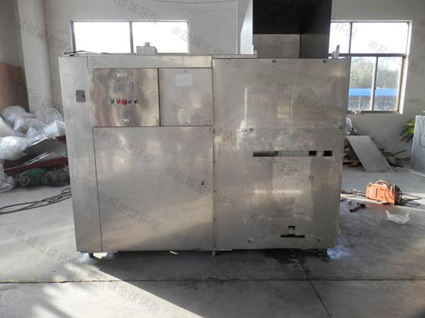 餐饮专用地下室多功能污水隔油提升设备制作