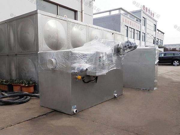餐饮商户室内简单污水隔油设备要求