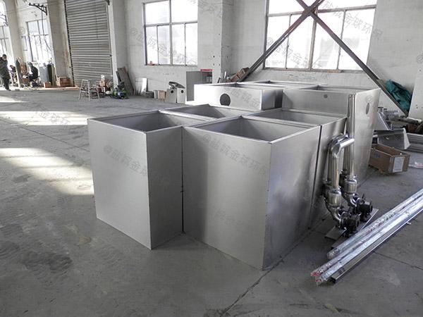 餐用室外机械一体化隔油池处理设备效率
