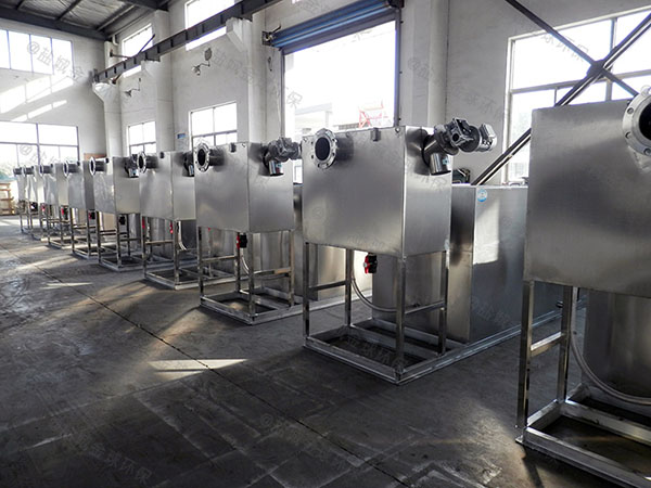 餐饮专用地上式全能型下水隔油设备销售