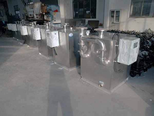 餐饮环保地下式简易一体化隔油池处理设备停留时间