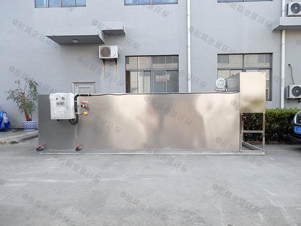 餐饮类埋地全能型污水隔油器应用范围