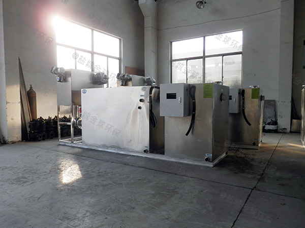 厨用地面式机械污水处理油水分离设备销售