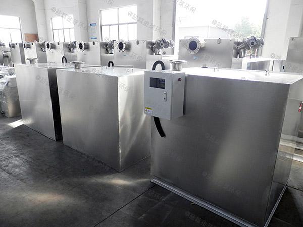 餐用地下全自动智能型一体化隔油器十大品牌