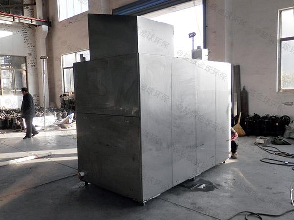 厨下型地面式移动式一体化隔油器直销