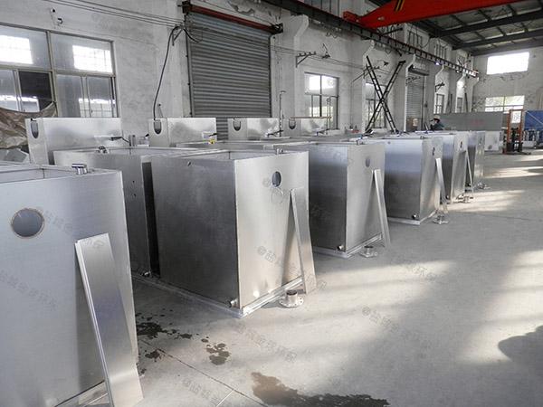 餐饮环保室外全能型一体化隔油池提升设备说明书