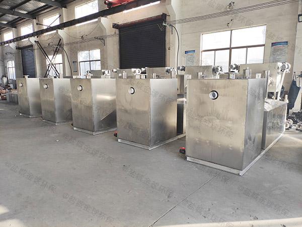餐用地面式全能型一体化隔油器使用寿命