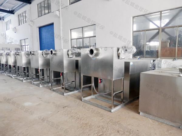 厨房用埋地全自动智能型下水隔油设备市场分析