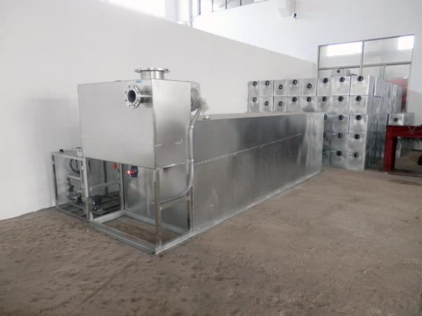 餐饮行业地下移动一体化隔油池提升设备说明书